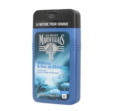 Le Petit Marseillais żel pod prysznic dla mężczyzn drzewo cedrowe 250 ml