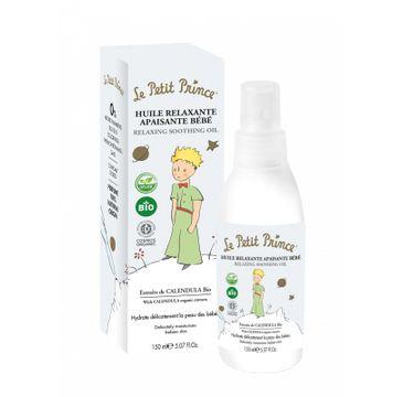 Le Petit Prince Relaxing Smoothing Oil relaksujący i kojący organiczny olejek do masażu dla dzieci (150 ml)