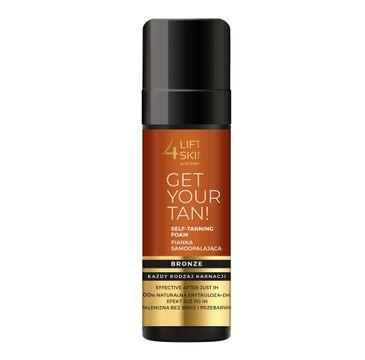 Lift4Skin Get Your Tan! pianka samoopalająca (150 ml)
