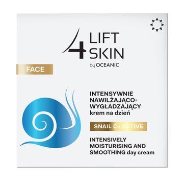 Lift4Skin Snail C+ Active intensywnie nawilżająco-wygładzający krem na dzień (50 ml)