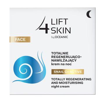 Lift4Skin Snail C+ Active totalnie regenerująco-nawilżający krem na noc (50 ml)