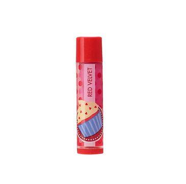 Lip Smacker Flavoured Lip Balm błyszczyk do ust Cupcake Red Velvet 4g