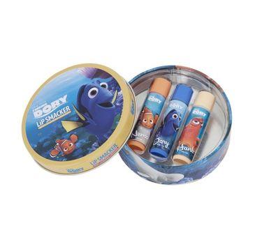 Lip Smacker Flavoured Lip Balm Collection błyszczyki do ust Disney Finding Dory 3x4g