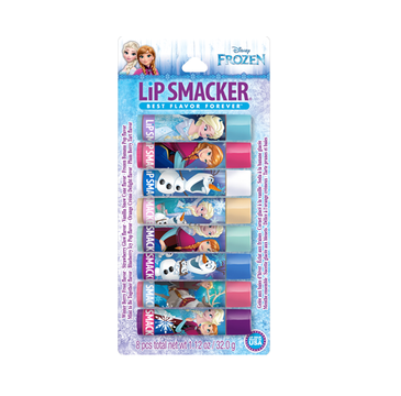 Lip Smacker Flavoured Lip Balm Collection błyszczyki do ust Disney Frozen 2016 8x4g