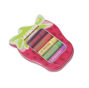 Lip Smacker Flavoured Lip Balm Collection błyszczyki do ust Strawberry Lover's 6x4g