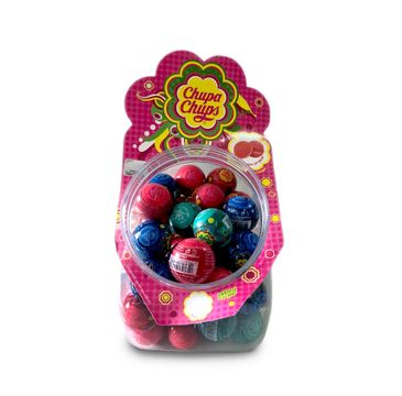 Lip Smacker Flavoured Lip Balm Domed Ball zestaw błyszczyki do ust Chupa Chups Mix 45x7g