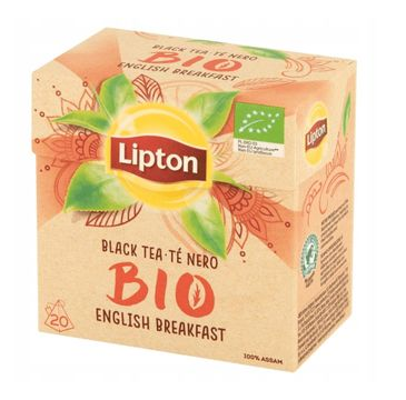 Lipton Bio Tea herbata czarna 20 piramidek