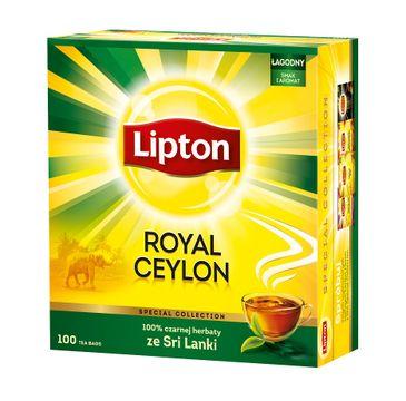 Lipton Black Tea herbata czarna Royal Ceylon 100 torebek 200g