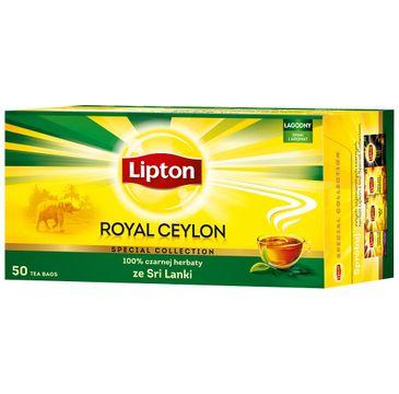 Lipton Black Tea herbata czarna Royal Ceylon 50 torebek 100g