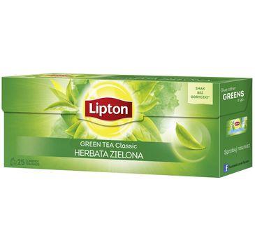 Lipton Green Tea herbata zielona Classic 25 torebek 32,5g