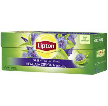 Lipton Green Tea herbata zielona Earl Grey 25 torebek 40g