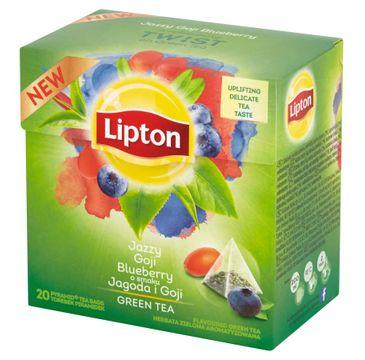 Lipton Green Tea herbata zielona Jagoda i Goji 20 torebek 28g