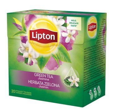 Lipton Green Tea herbata zielona Jaśmin 20 piramidek 34g