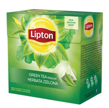 Lipton Green Tea herbata zielona Nature 20 piramidek 28g
