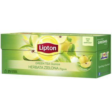 Lipton Green Tea herbata zielona Pigwa 25 torebek 40g