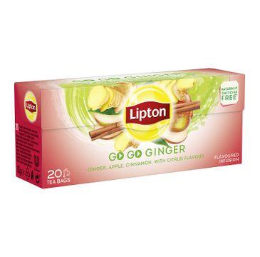 Lipton Herbata owocowa Go Go Ginger 20 torebek 32g