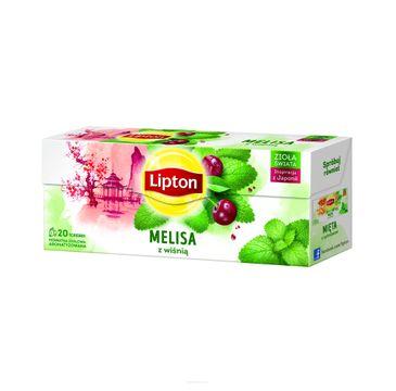 Lipton Herbata ziołowa Melisa z Wiśnią 20 torebek 26g