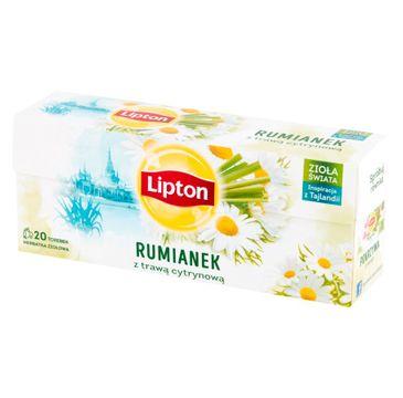 Lipton Herbata ziołowa Rumianek z Trawą Cytrynową 20 torebek 20g