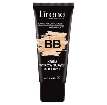 Lirene BB krem wyrównujący koloryt Naturalny 02 (30 ml)