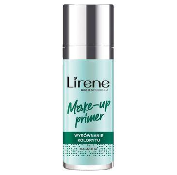 Lirene Make-Up Primer baza pod makijaż wyrównująca koloryt Magnolia (30 ml)