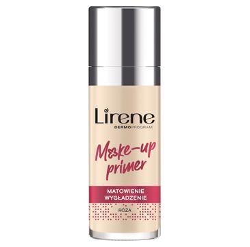 Lirene Make-Up Primer matująco-wygładzająca baza pod makijaż Róża (30 ml)