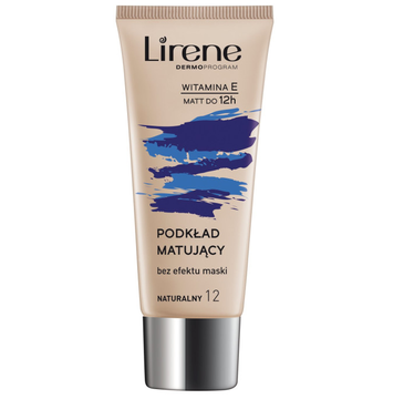 Lirene Nature Matte fluid matujący do twarzy 12 Naturalny 30ml
