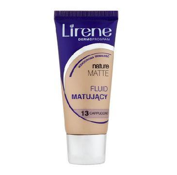 Lirene Nature Matte fluid matujący do twarzy 13 Cappuccino 30ml