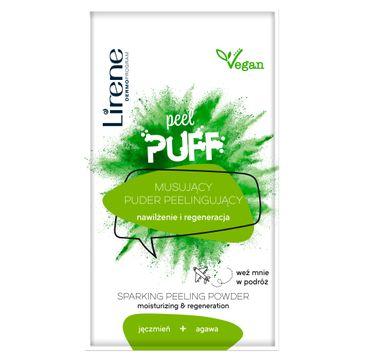 Lirene Peel Puff musujący puder peelingujący jęczmień + agawa (7 g)