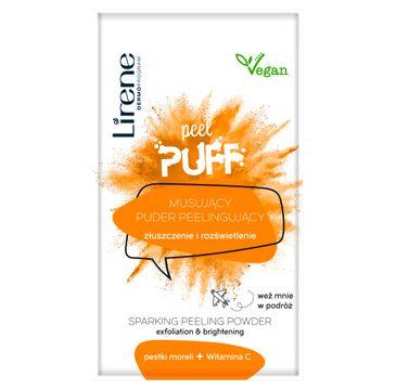 Lirene Peel Puff musujący puder peelingujący pestki moreli + witamina C (7 g)