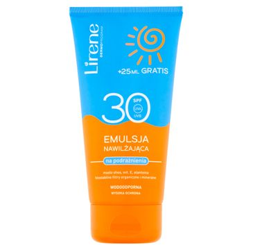 Lirene Sun emulsja nawilżająca na podrażnienia SPF30 (175 ml)