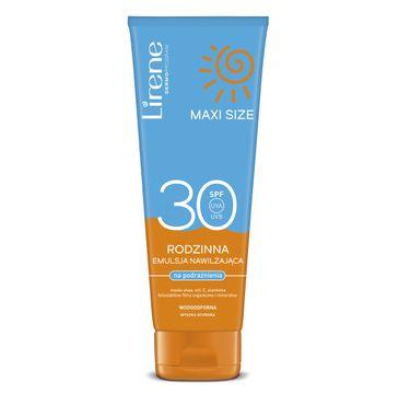 Lirene Sun Maxi Size rodzinna emulsja nawilżająca na podrażnienia SPF30 (250 ml)