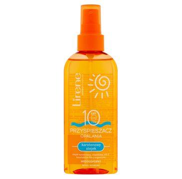 Lirene Sun przyśpieszacz opalania karotenowy olejek SPF10 (150 ml)