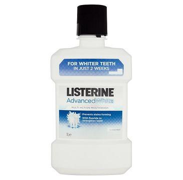 Listerine Advanced White płyn do płukania jamy ustnej 1000ml