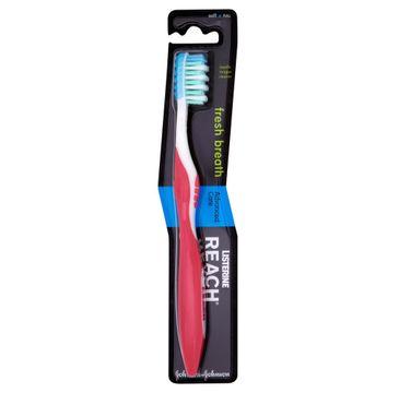 Listerine Reach szczoteczka do zębów fresh breath soft 1 szt.