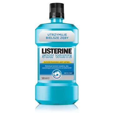 Listerine Stay White Ochronny płyn do płukania jamy ustnej 500ml 5+1