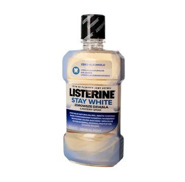 Listerine – Stay White płyn do płukania jamy ustnej  (500 ml)