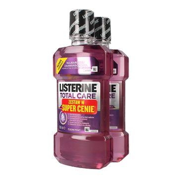 Listerine Total Care płyn do płukania jamy ustnej 500 ml x 2