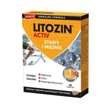 Litozin Activ stawy i mięśnie suplement diety (30 tabletek)