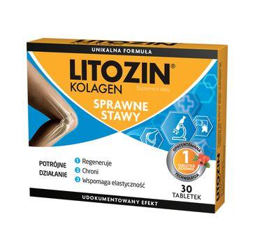 Litozin Kolagen sprawne stawy suplement diety (30 tabletek)