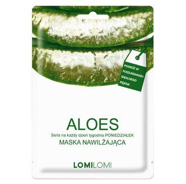 Lomi Lomi – maska nawilżająca na poniedziałek Aloes (26 ml)