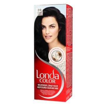Londa Color farba do włosów Cream 2/0 Czarny