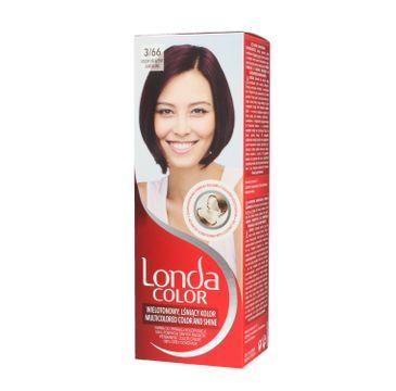 Londa Color farba do włosów Cream 3/66 Oberżyna