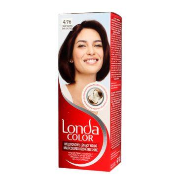 Londa Color farba do włosów Cream 4/76 Ciemny kasztan