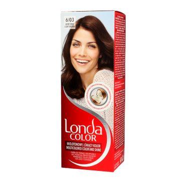 Londa Color farba do włosów Cream 6/03 Jasny brąz