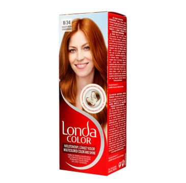 Londacolor Cream Farba do włosów nr 8/34 Zlocisty rudy 1 op.