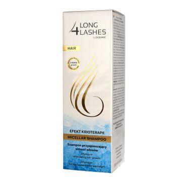 Long 4 Lashes Efekt Krioterapii Szampon przyspieszający wzrost włosów 200 ml