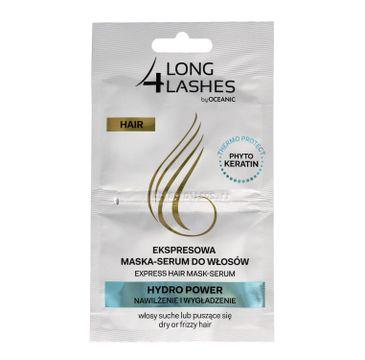 Long 4 Lashes ekspresowa maska serum do włosów Hydro Power 6 ml x 2
