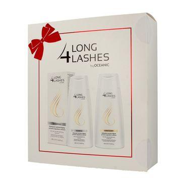 Long 4 Lashes zestaw prezentowy szampon 200 ml + odżywka 200 ml