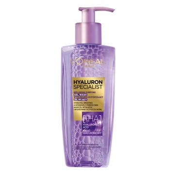 L'Oreal Hyaluron Specialist Żel Myjący Wypełniająco-oczyszczający do twarzy (200 ml)