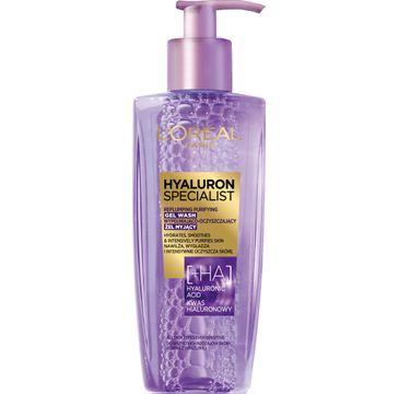 L'Oreal Hyaluron Specialist – żel myjący do twarzy (200 ml)